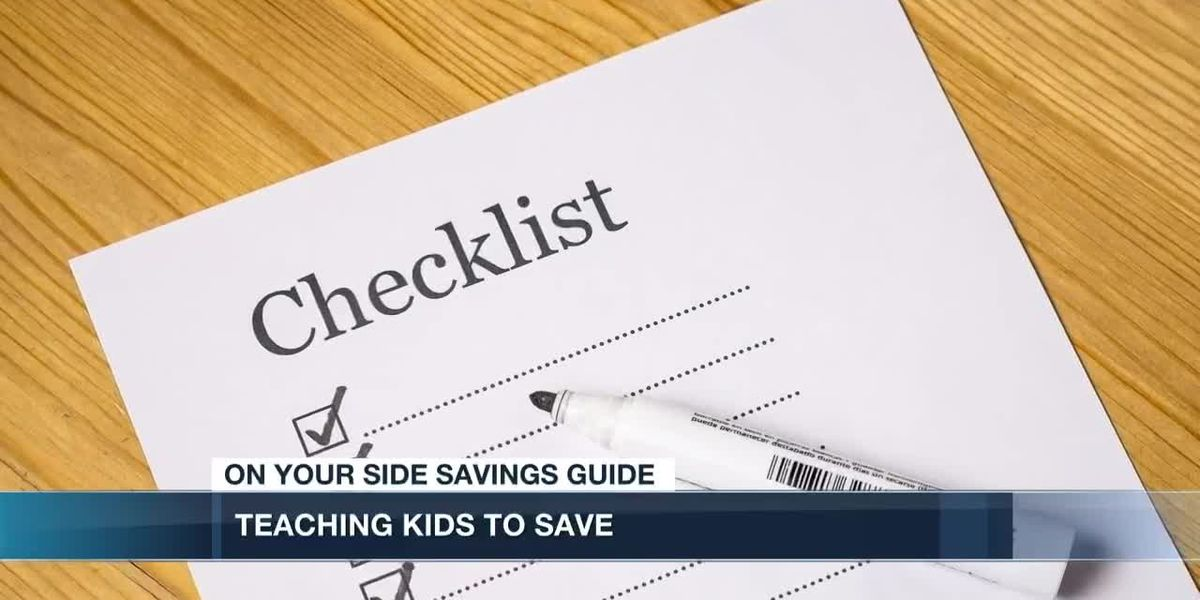 The trick to teaching your kids to save