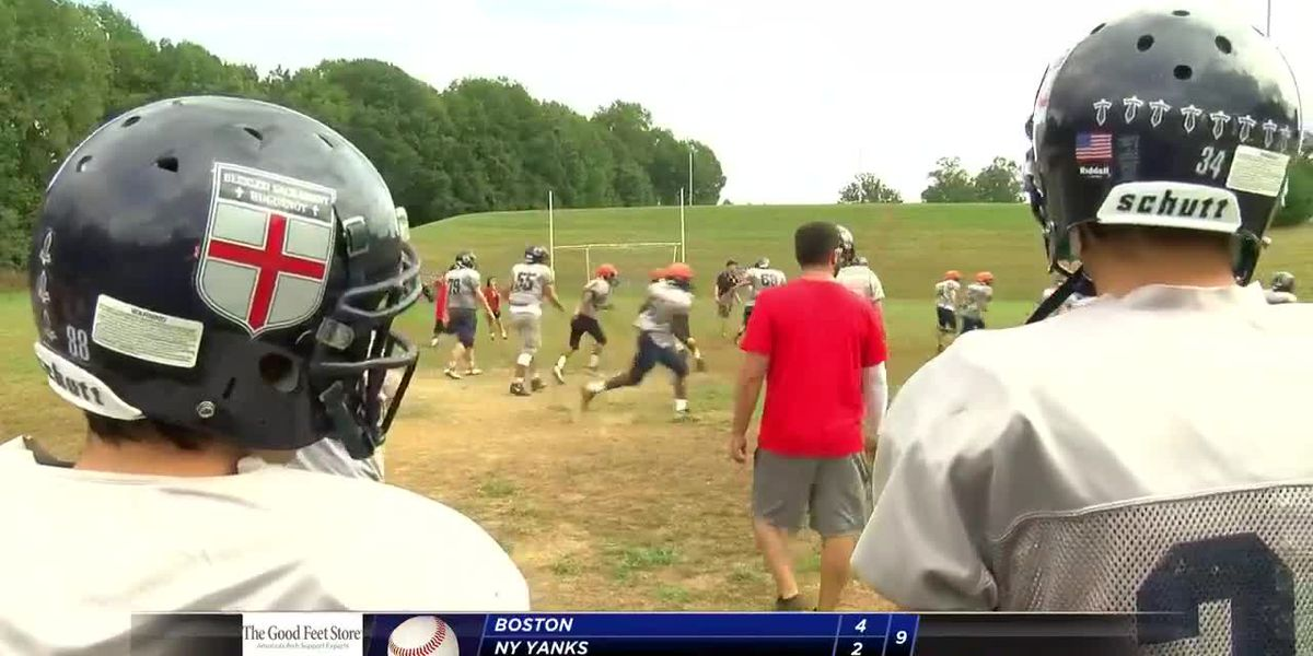 New coach, seniors save traditional football at Blessed Sacrament Huguenot