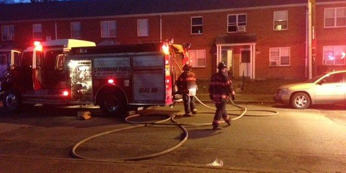 Apartment fire in Richmond's Gilpin Court results in $8k worth of damage