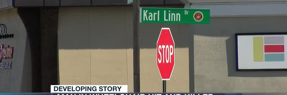 Man in wheelchair hit and killed
