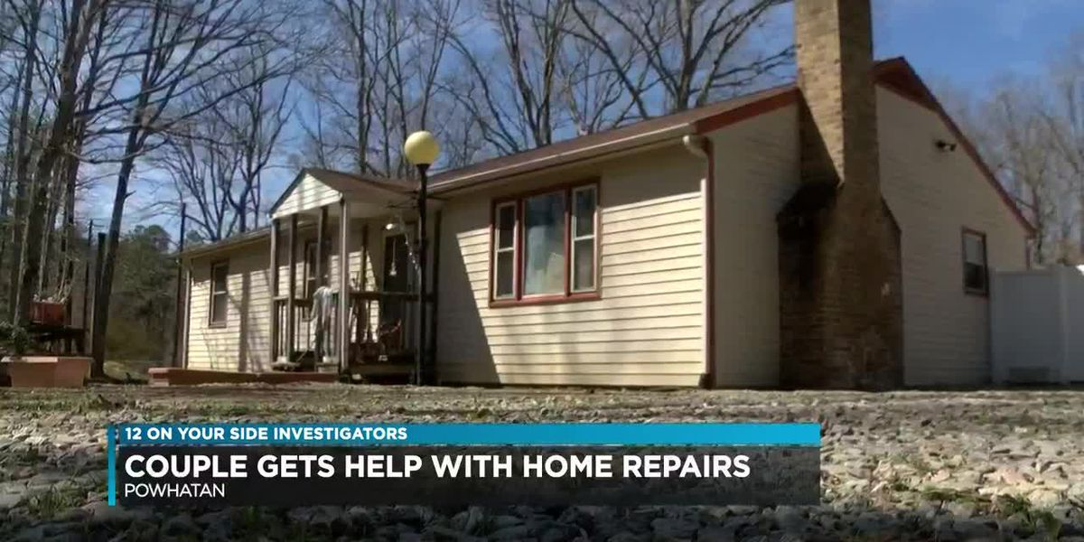 Couple gets help with home repairs