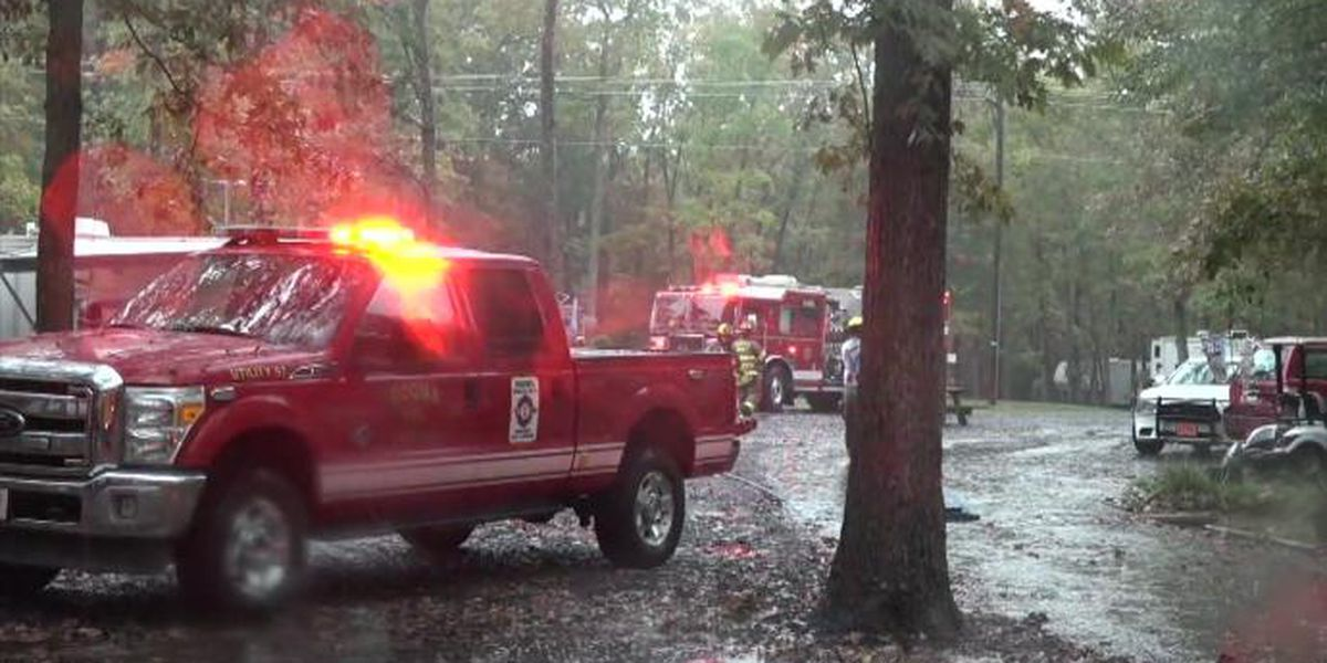Woman dies in fire at Va. campground
