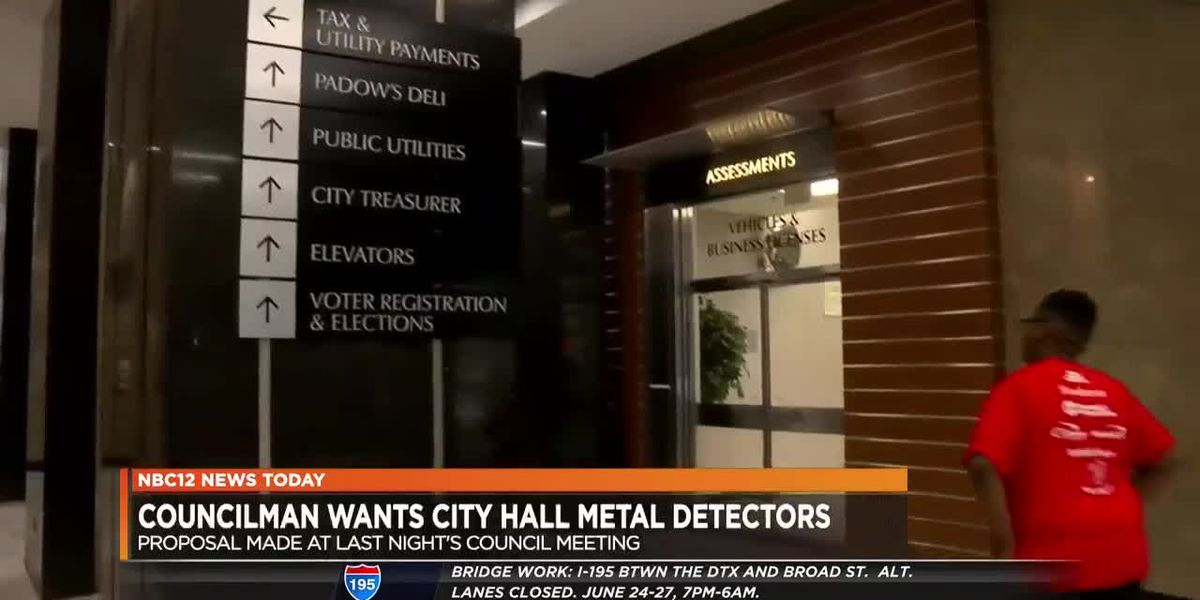 Metal detectors proposed at City Hall