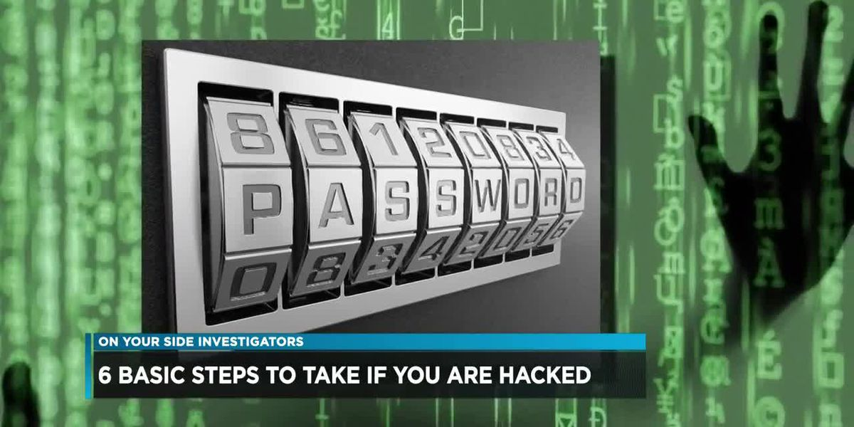 Six basic steps to take if you are hacked