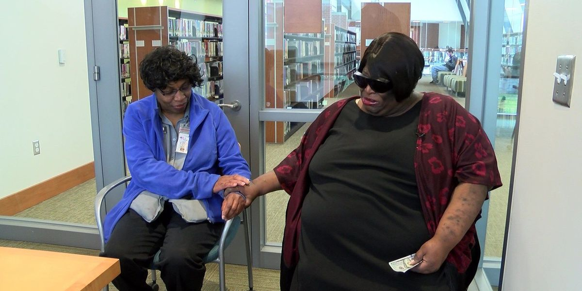 Acts of Kindness: Blind woman honors devoted friend