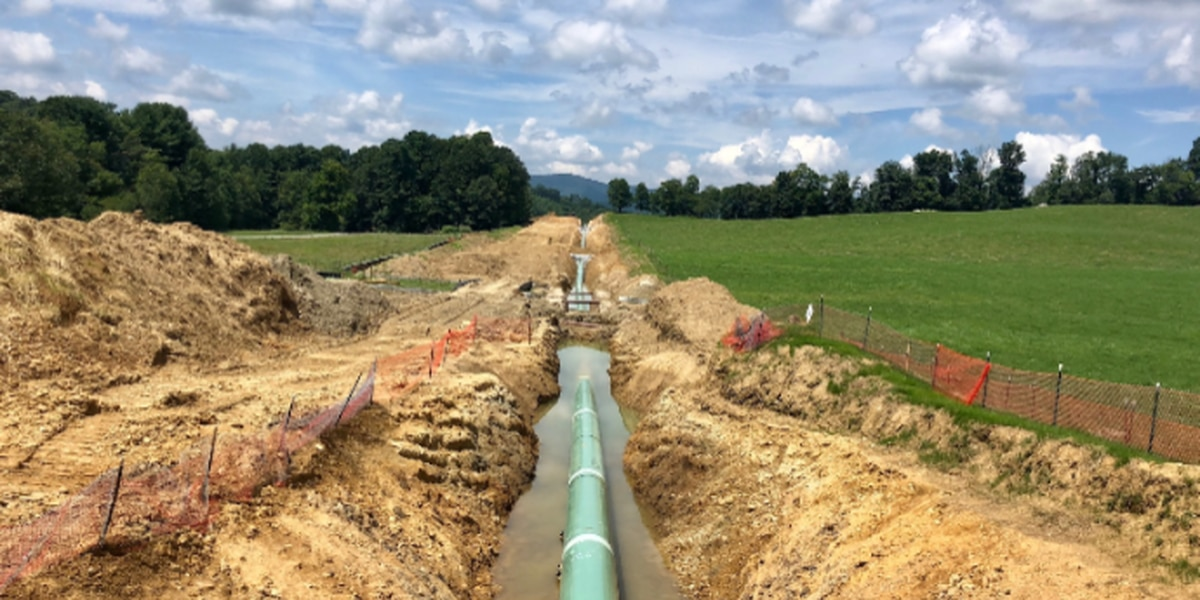 Corps reinstates permits for natural gas pipeline project