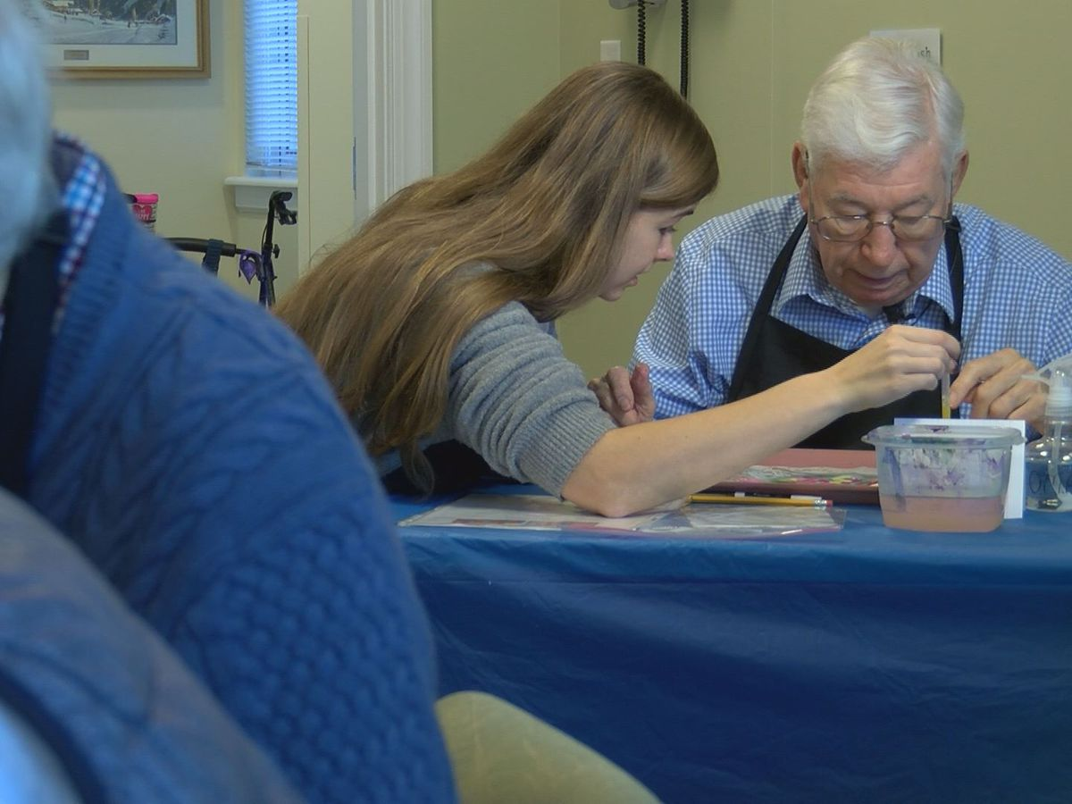 Richmond seniors, students create masterpieces through art program