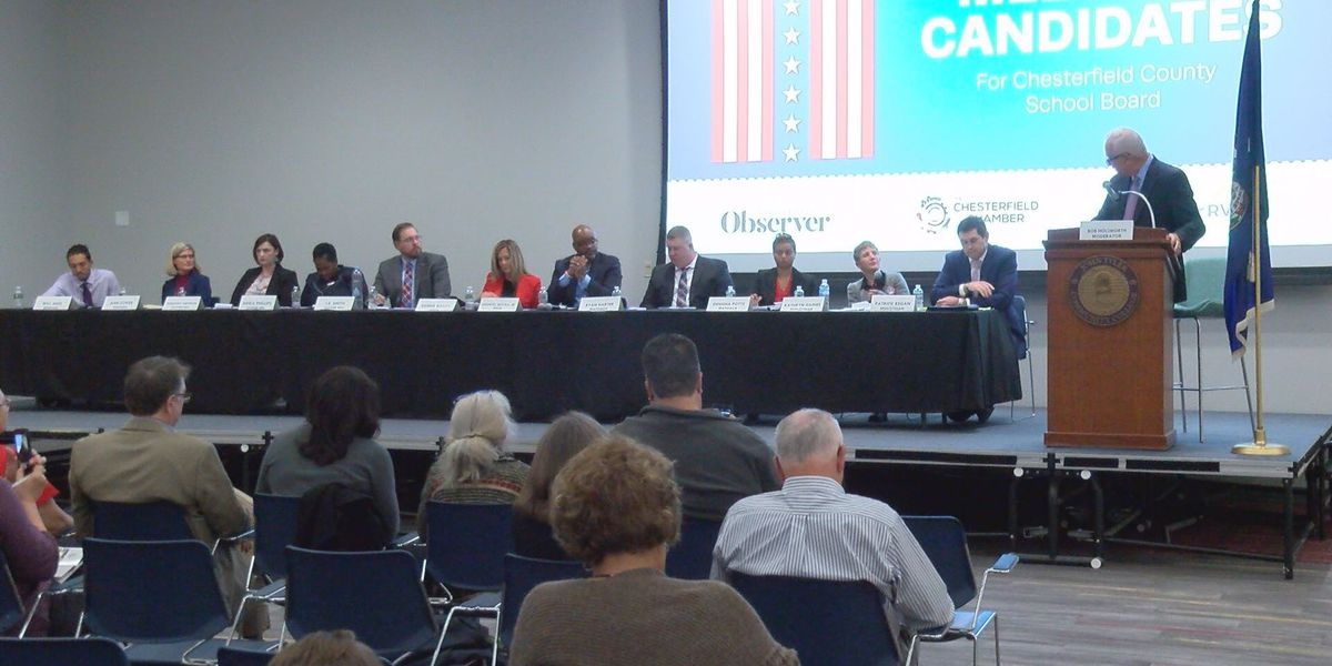 Meet the Candidates: All seats open in Chesterfield School Board race