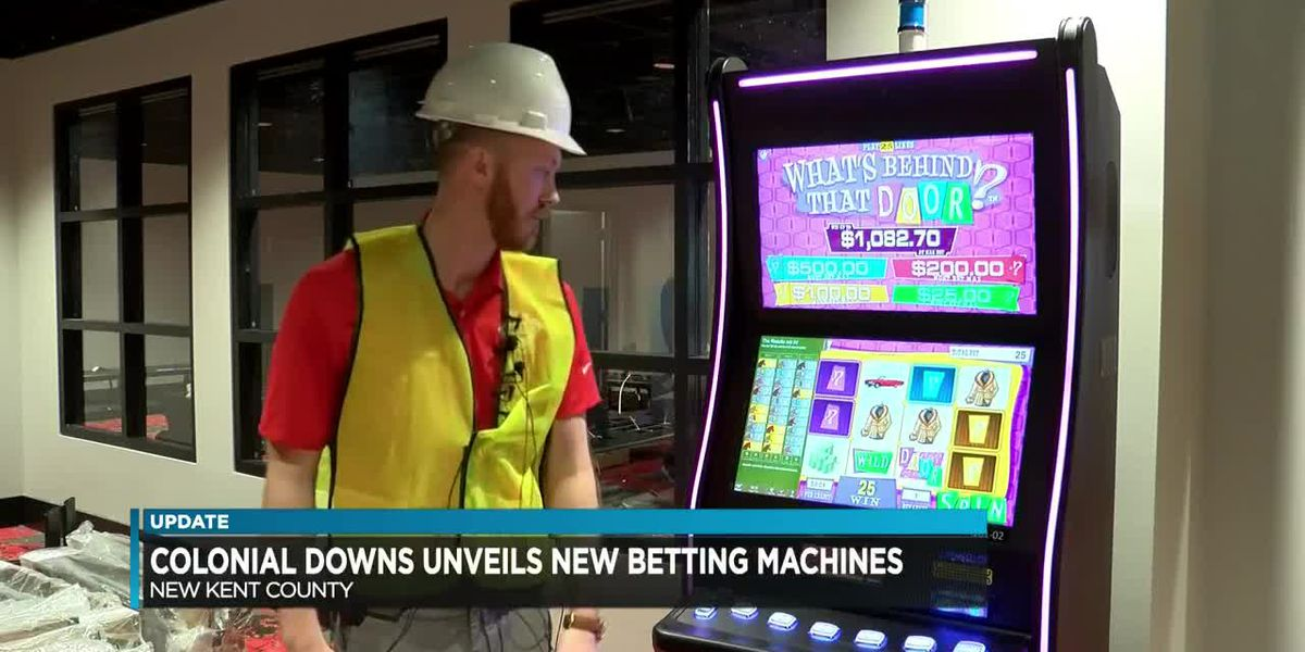 Rosie's New Kent unveils digital betting machines