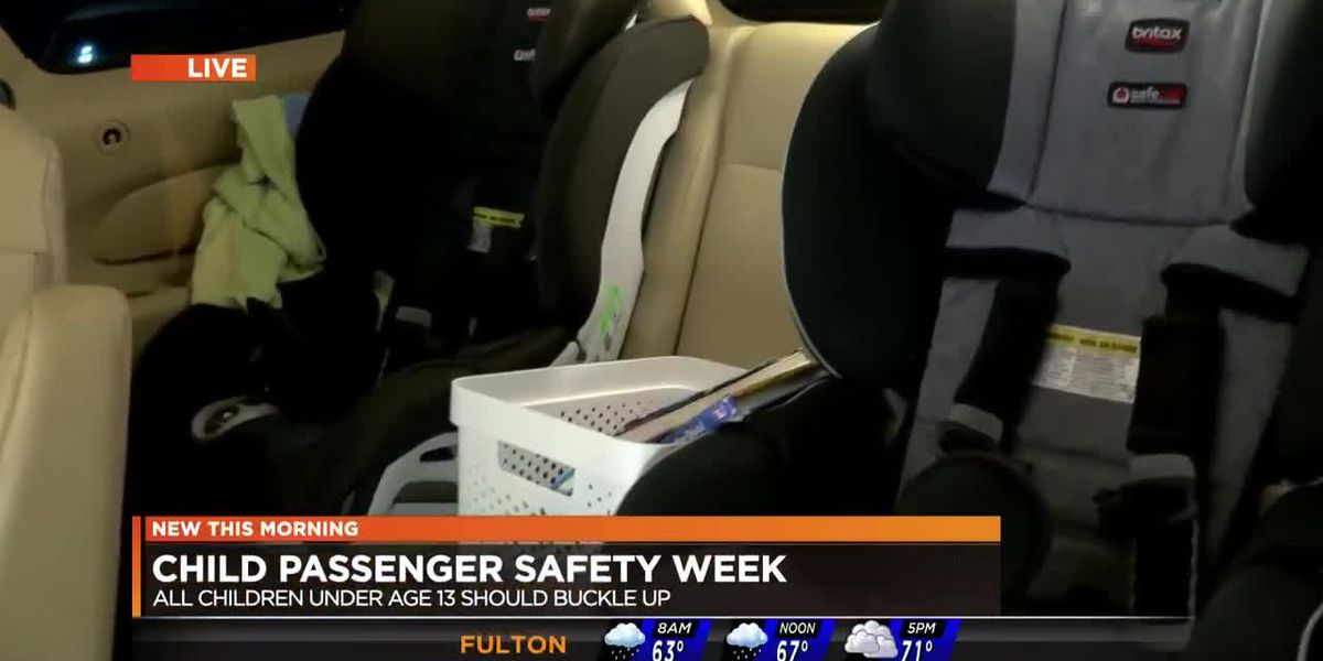 NBC12 WWBT - Child passenger safety week
