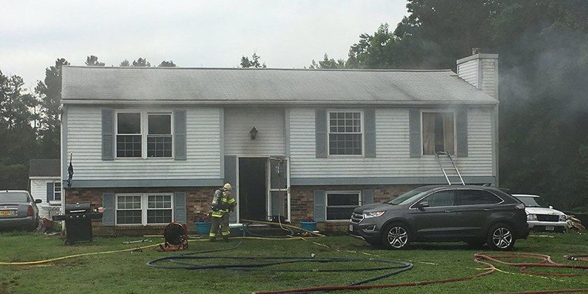 2 dogs die in Chesterfield house fire caused by electrical malfunction