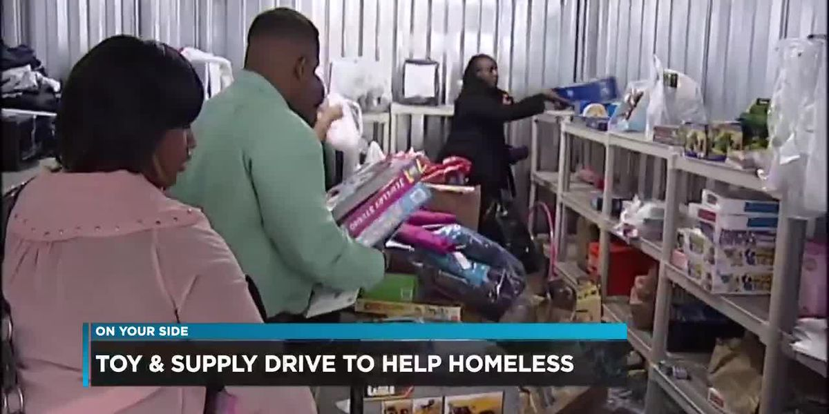 Toy and supply drive to help homeless