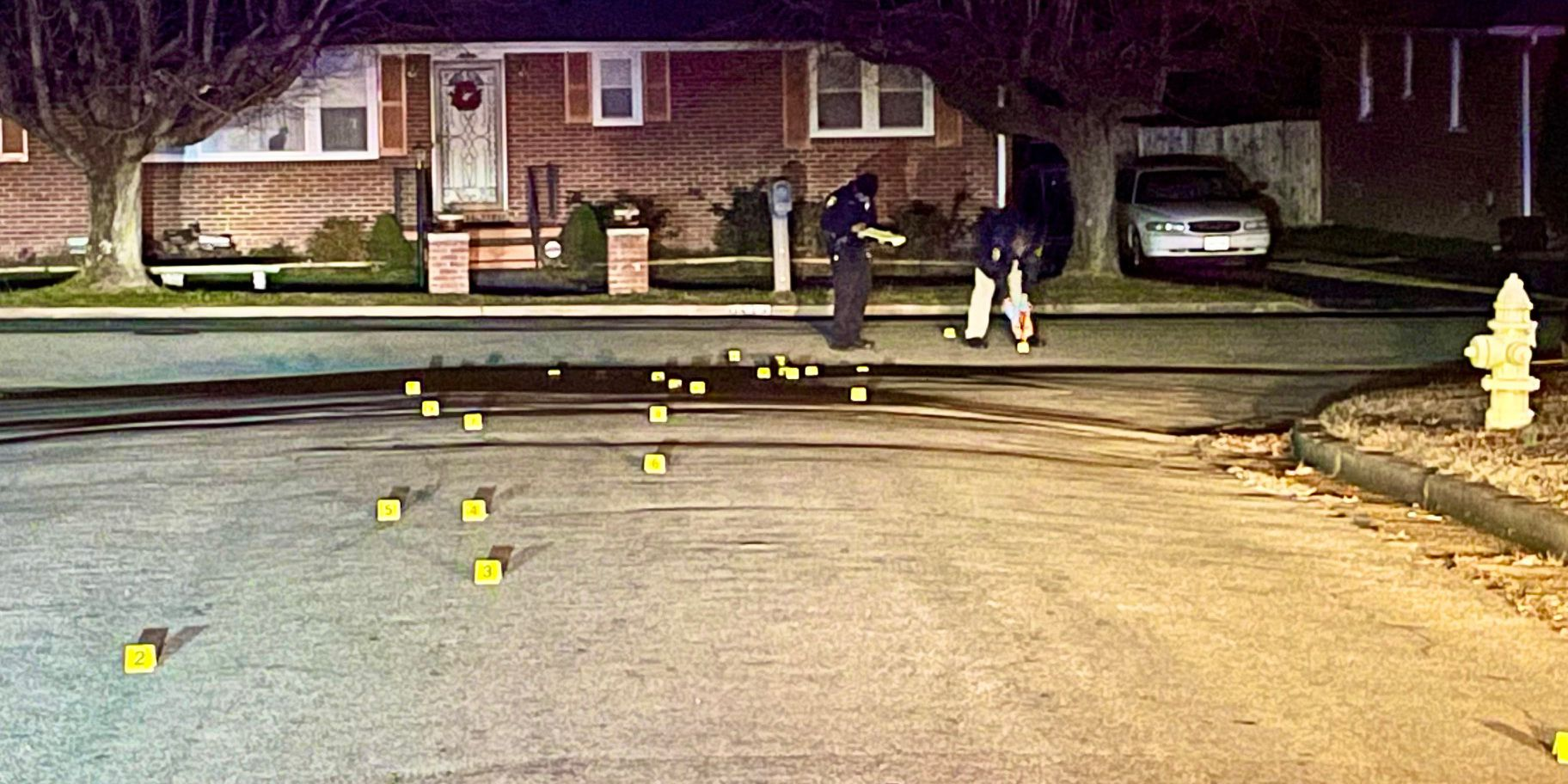 Shots fired in Petersburg, nearly 30 shell casings found