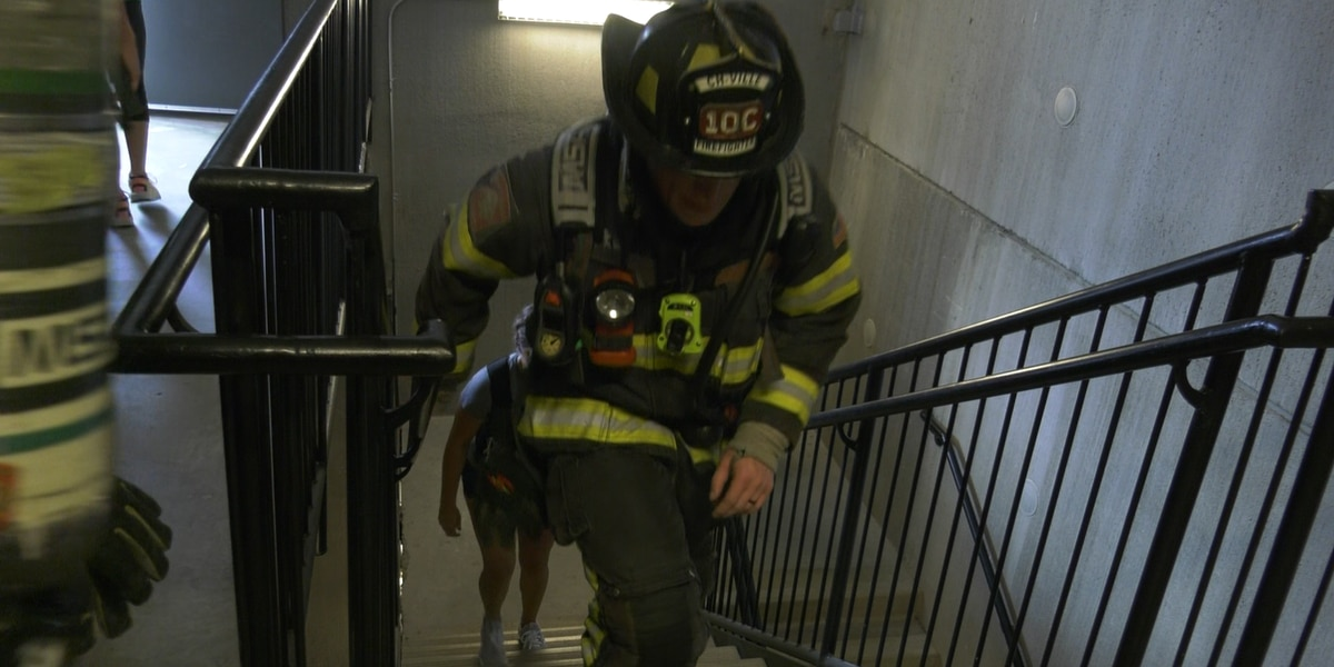 CFD remembers first responders on 9/11 one step at a time