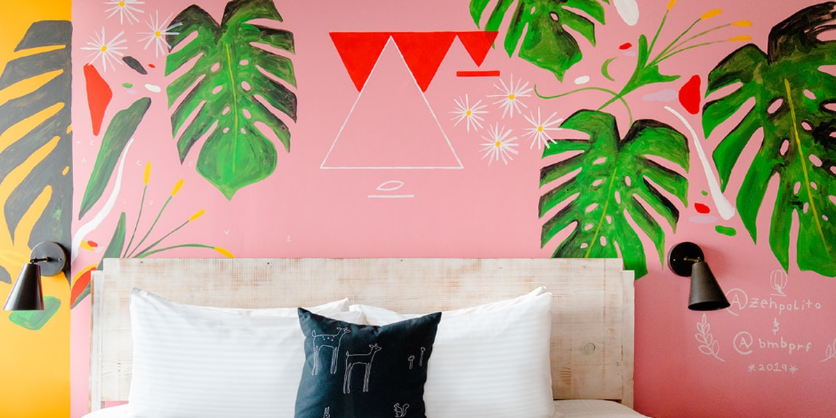 Quirk Hotel unveils custom mural rooms painted by Richmond artists