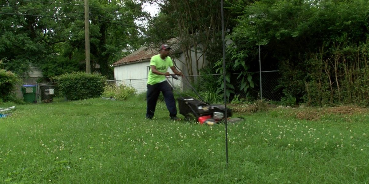Man on a mission to mow lawns in all 50 states