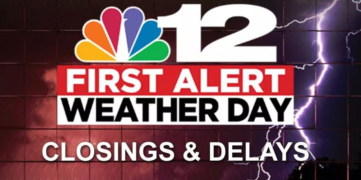 Closings and delays for Hurricane Florence