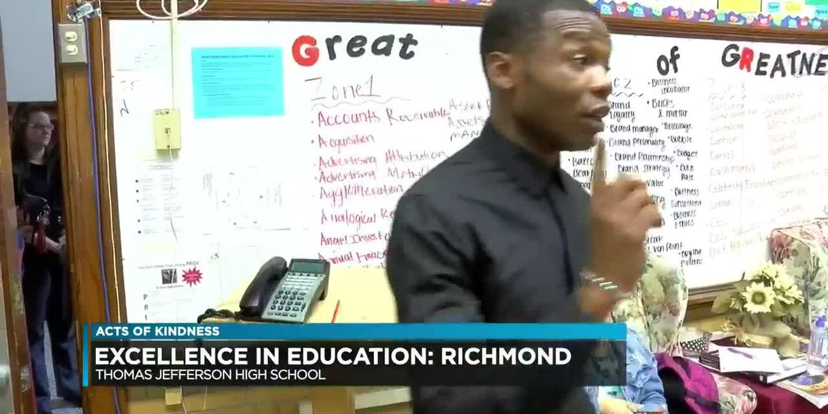Excellence in Education: Thomas Jefferson High School teacher honored