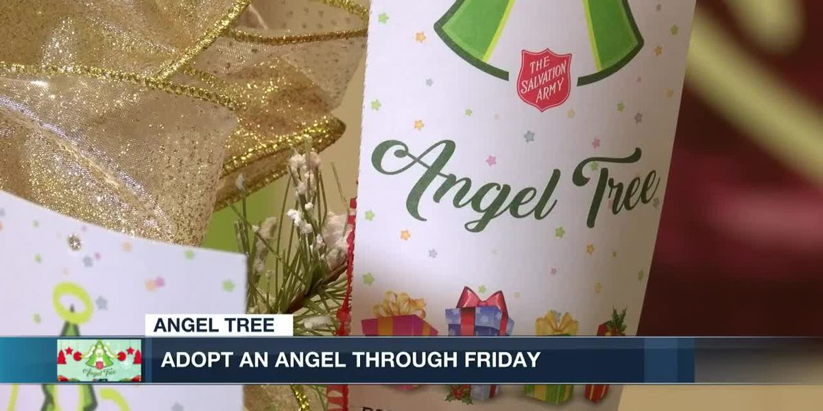 Salvation Army Angel Tree: Adopt an angel through Friday