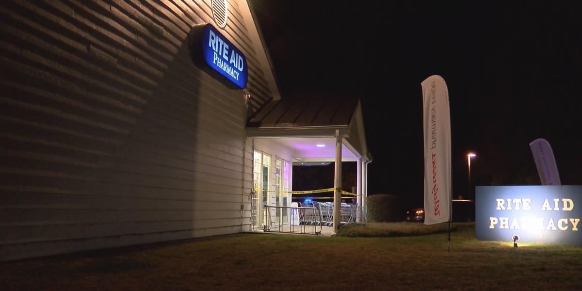 Police seek suspect in drug store armed robbery
