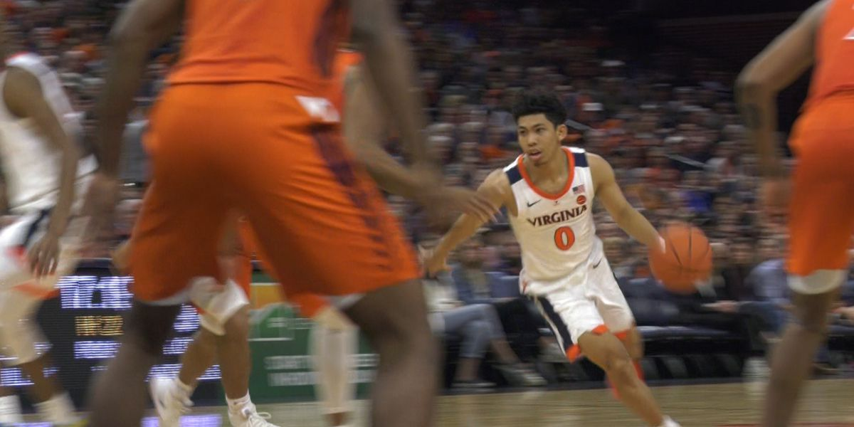 No. 19 Virginia improves to 3-0 in ACC with 65-39 win over Virginia Tech