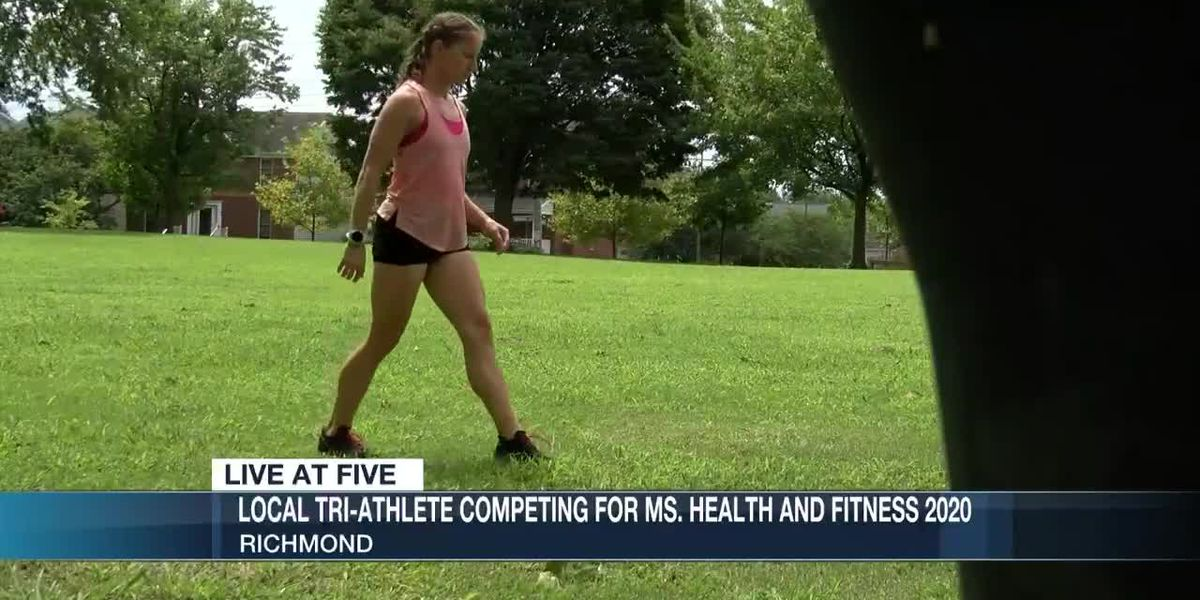 Local tri-athlete competing for Ms. Health and Fitness 2020