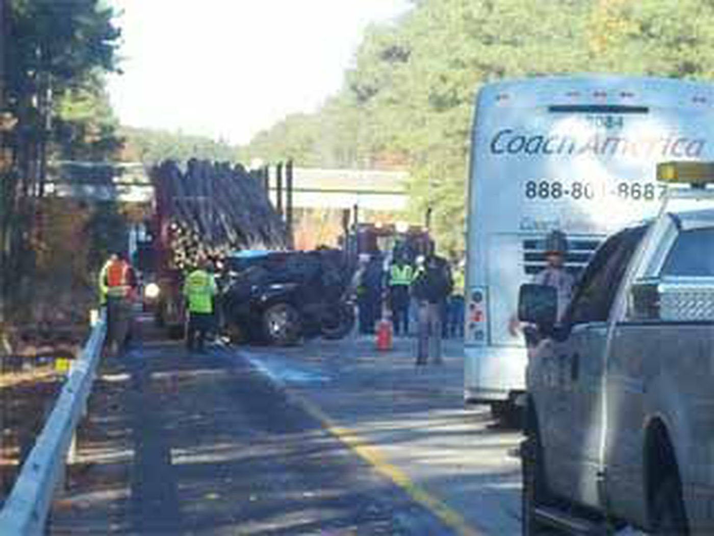 Three killed in accident on Interstate 85