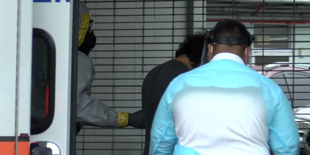 Father, son with COVID-19 forced into facility after breaking quarantine