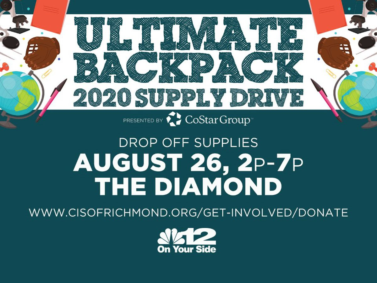 'Ultimate Backpack' program collecting school supplies for Richmond area students