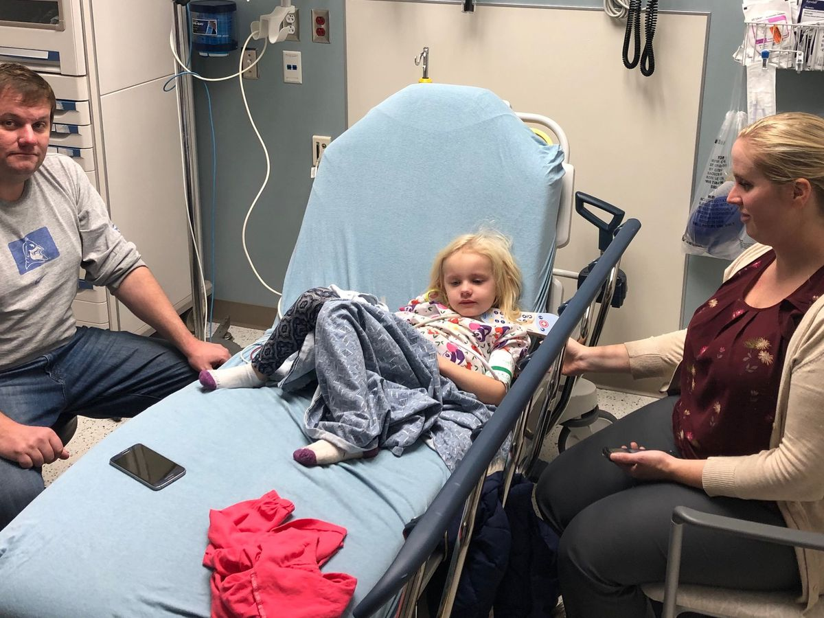 'Worst dreams comes true': 4-year-old breaks collar bone in bus crash