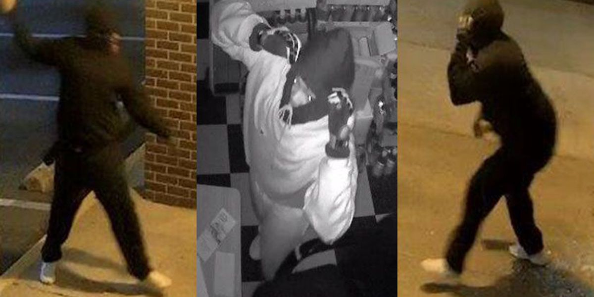 Suspect wanted in Chesterfield break-ins