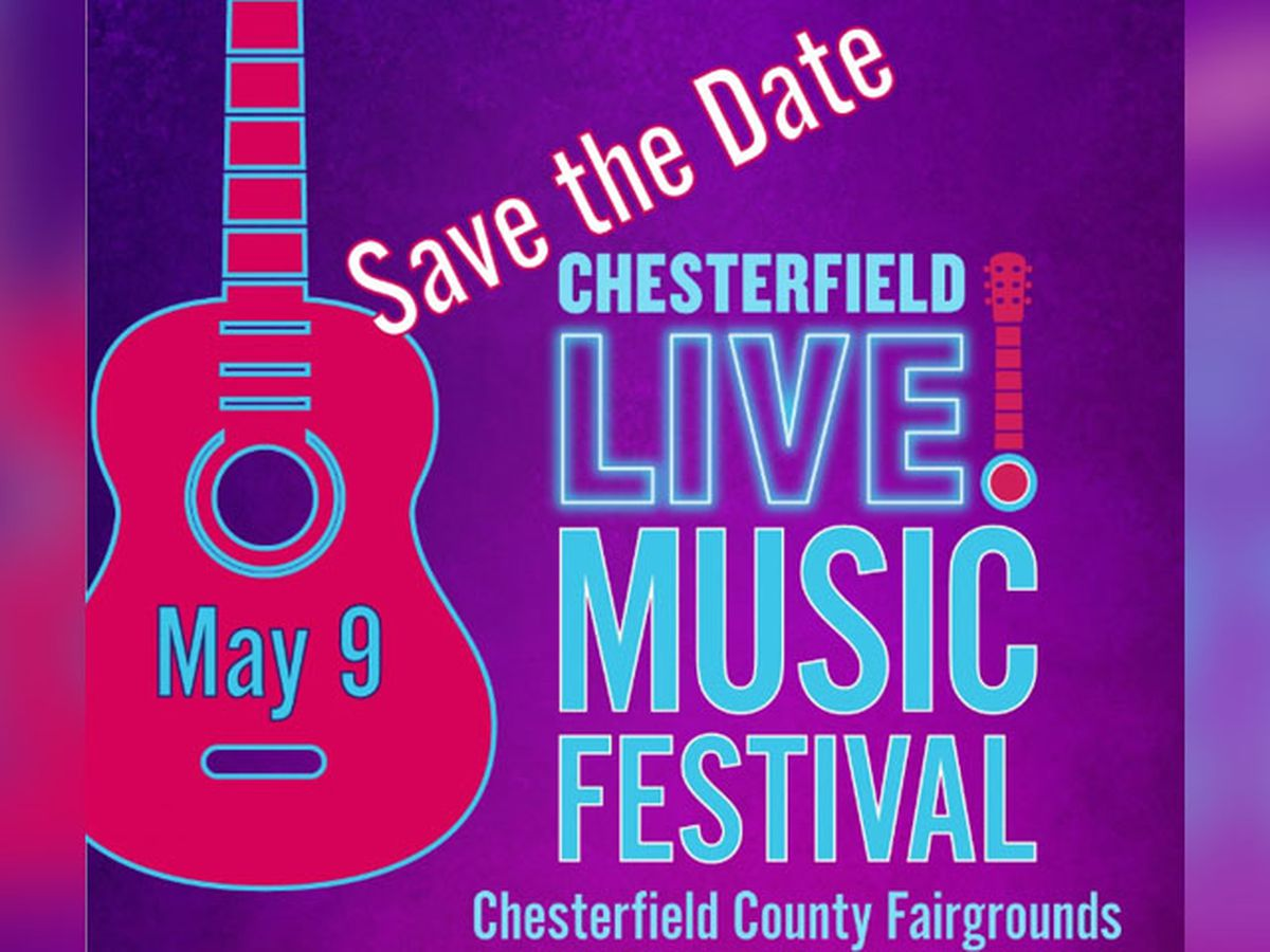 Chesterfield LIVE! music festival returns in May