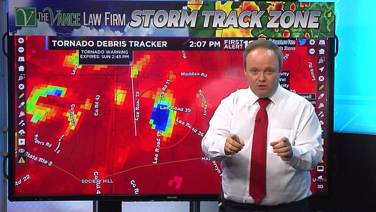 WSFA meteorologists get national attention for tornado coverage
