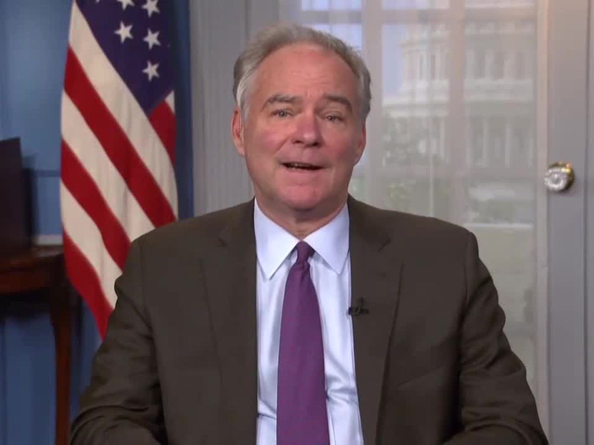 Senator Kaine to introduce new bills on gun measures, workforce training