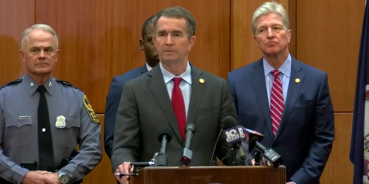 Northam declares state of emergency, Capitol weapon ban ahead of gun rights rally