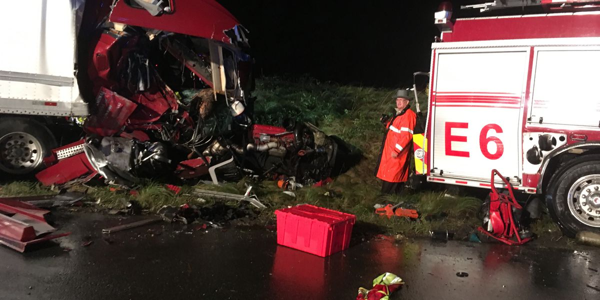 Hanover firefighter killed in I-295 crash; tractor-trailor driver charged