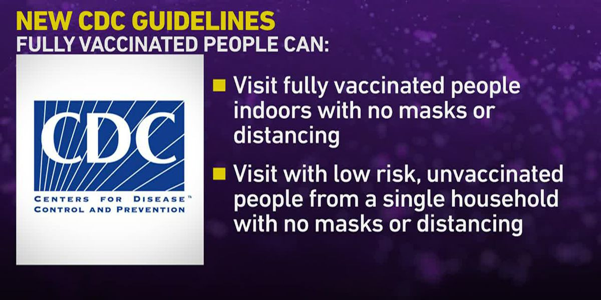 Central Virginians react to new CDC guidelines on mask-wearing