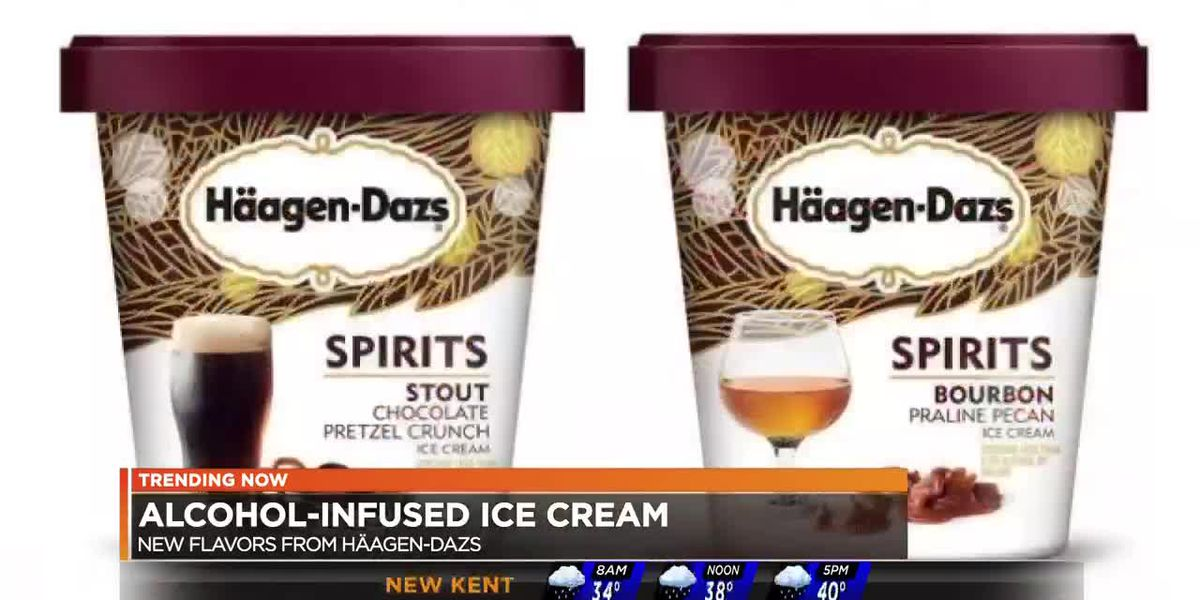 Haagen-Dazs introduces alcohol-infused ice cream