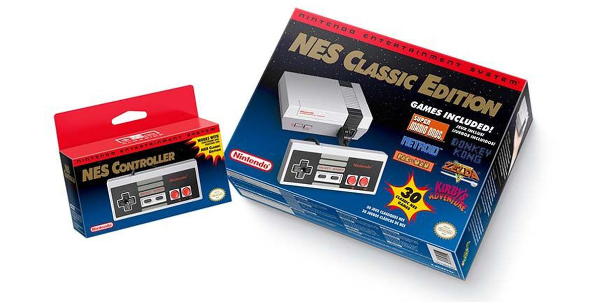 Mini-NES to hit shelves Friday