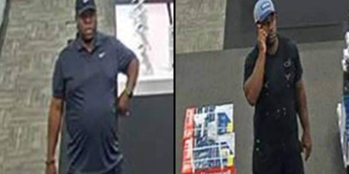 2 men wanted following theft from Best Buy