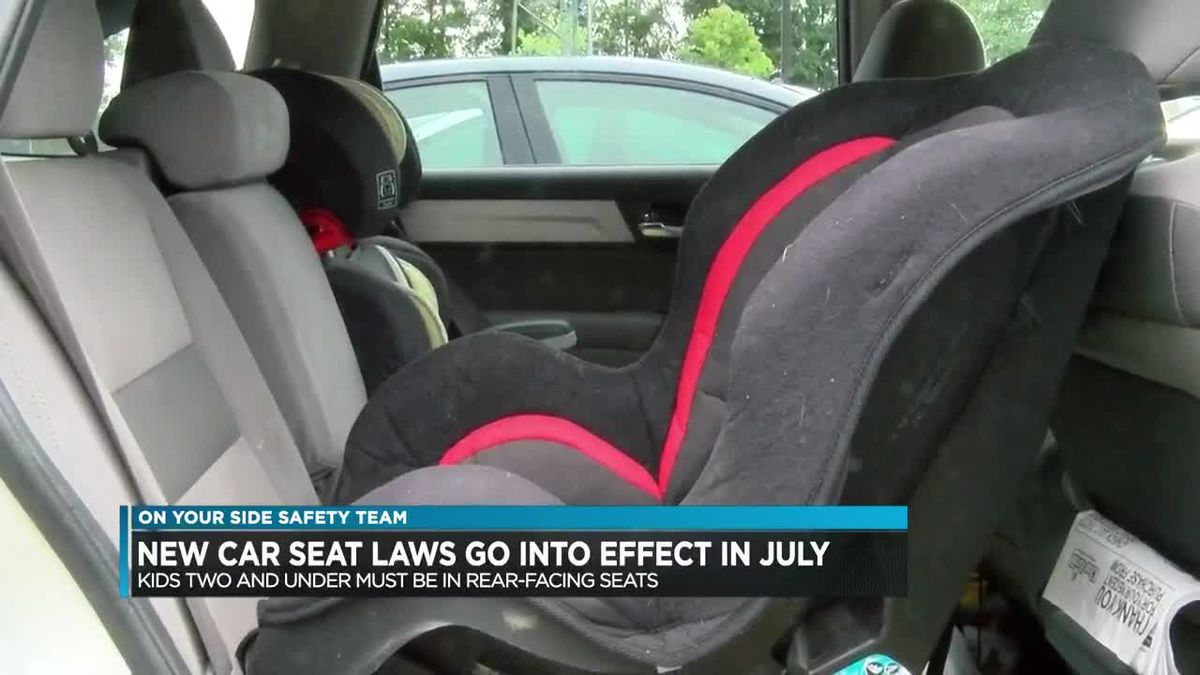 New Car Seat Laws Take Effect July 1st