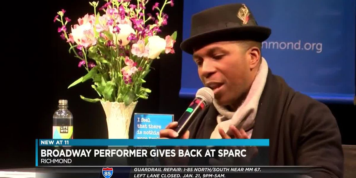 Broadway performer gives back at SPARC