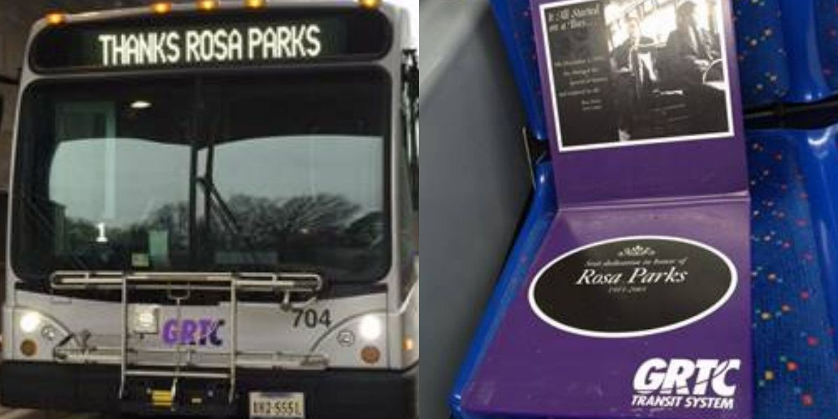 GRTC honors Rosa Parks in special tribute