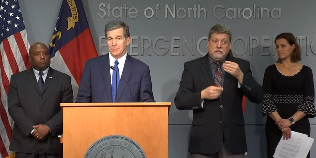 NC governor declares state of emergency amid coronavirus concerns