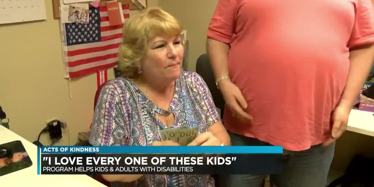 """I love every one of these kids"" Program helps kids & adults with disabilities"