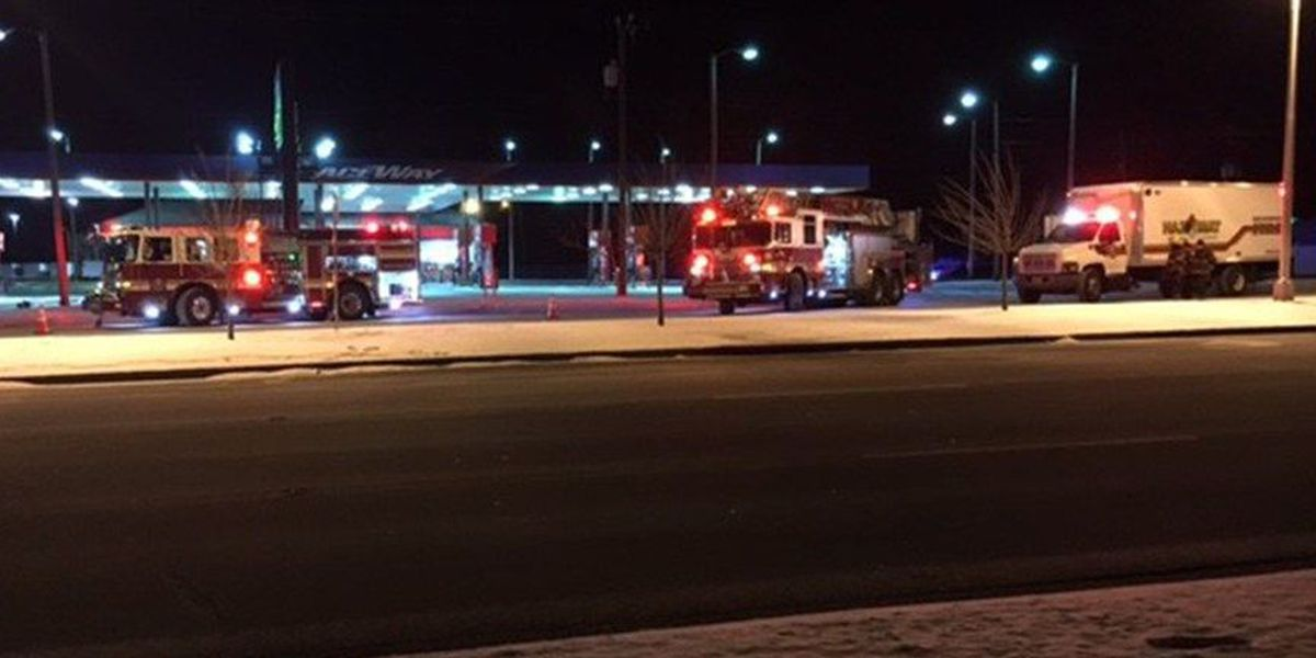 Gas leaks onto Midlothian Turnpike after hit-and-run
