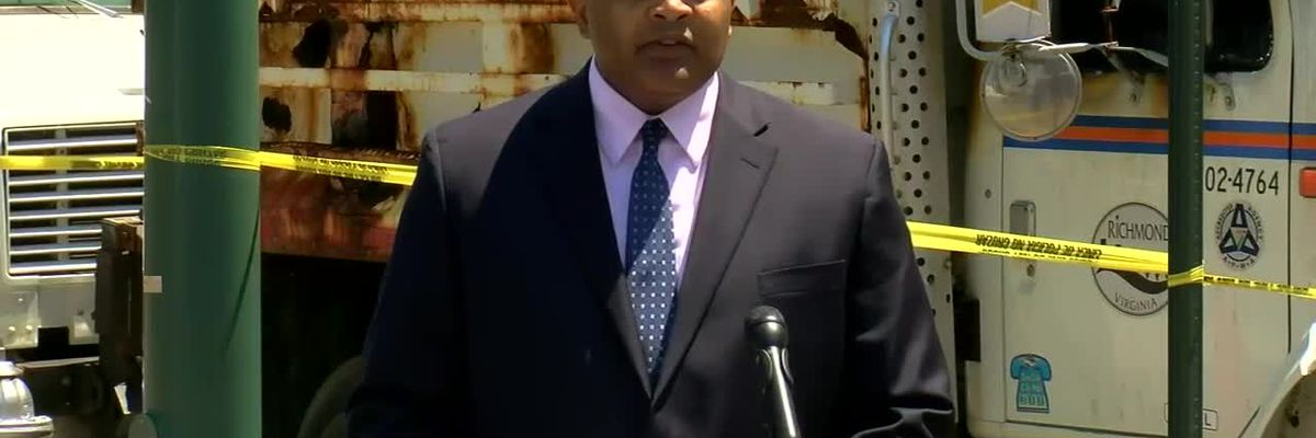 Richmond police chief holds news conference after weekend riots in downtown