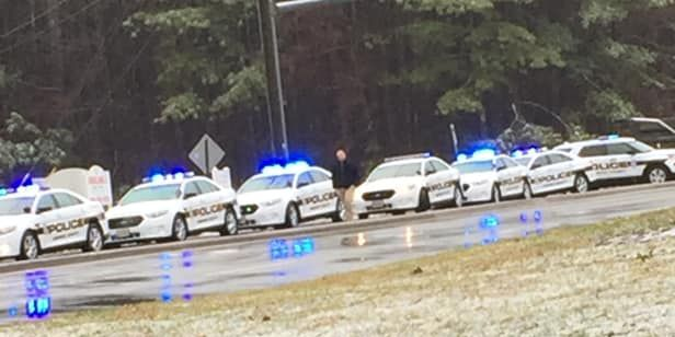 'All clear' given after massive police presence at Henrico school
