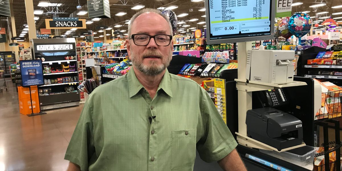 Chesterfield man participates in mega grocery shopping dash