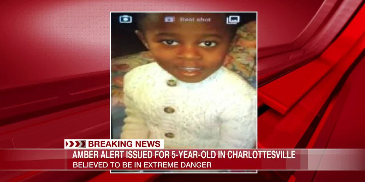 AMBER Alert issued for abducted 5-year-old believed to be in 'extreme danger'